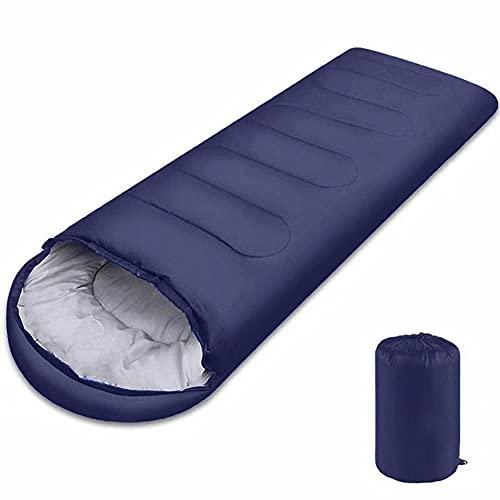 Sacos de dormir de camping con saco de compresión compactos saco de dormir de camping para adultos para brazos y pies, saco de dormir para senderismo, viajes