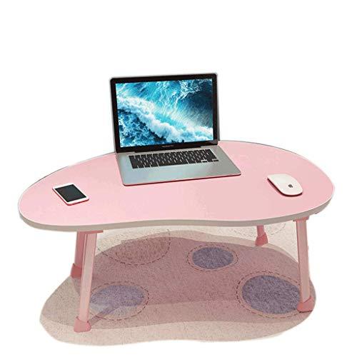 Slaapkamer, laptop bureau, mango tafel, bed, vouwen, tablet, lui, studie, kleine tafel, handige opslag, vier kleuren opties, gewichtsbestendigheid 20Kg