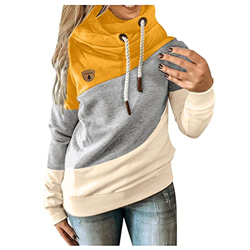 XTBFOOJ Hoodie Sweatshirt, Damen Kapuzenpullover, Riesen-Sweatshirt, Super weich und bequem, Geeignet für Erwachsene, Männer, Frauen, Jugendliche Damen Leichter Cardigan mit offener Vorderseite