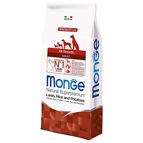 Monge - All Breeds Adult Agnello Riso e Patate 1 Sacco 12,00 kg
