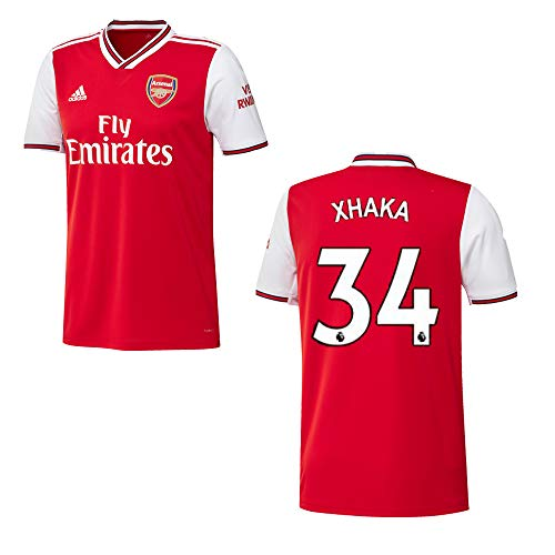 adidas FC Arsenal Trikot Home Kinder 2020 - XHAKA 34, Größe:164