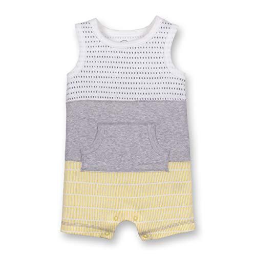 Lamaze Baby Boys Organic Sleeveless Romper, Yellow, 9M