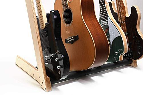 WXJHA Universal-Gitarrenständer 5-Wege-Multi Gitarren-Rack und Halter für Gitarren-Halter für Akustik, Klassik, Elektro, Bassgitarre, Sitar Zubehör Recording Studios/Schule/Familie