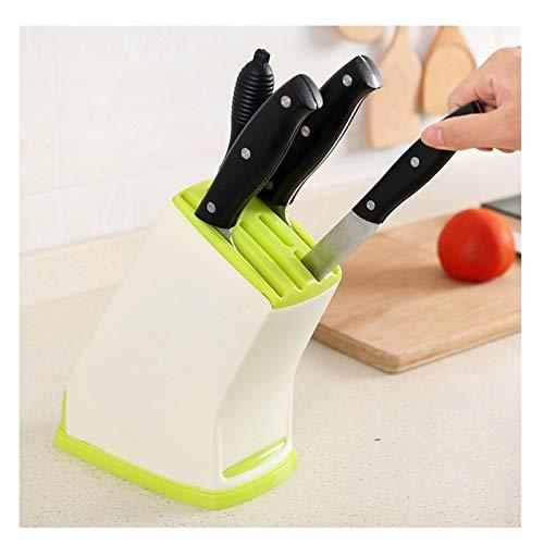 Porte-Couteaux Vide Porte-couteau, grande capacité, Couteau de cuisine multifonctions Stockage des ménages et le placement en rack Blocs couteaux (Color : A)