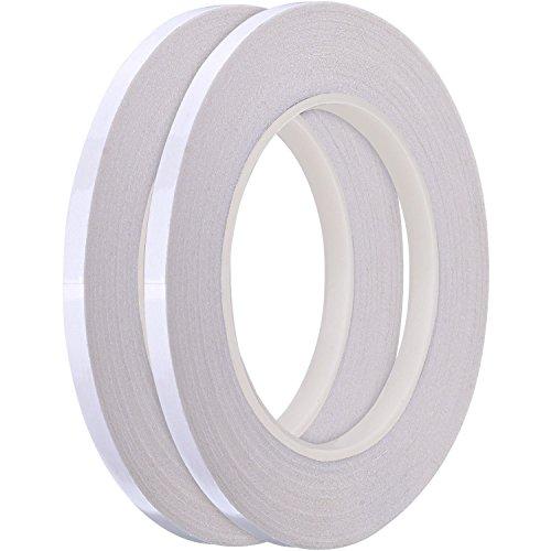 Hotop 1/4 Zoll Nähendes Tape zum Quilten von Sewing Tape, Je 22 Yard (2 Rolle)