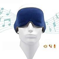 Bluetooth 4.2アイマスク、ミュージックアイマスクUSB充電ステレオトラベルコンパニオンヨガスリーピング、B