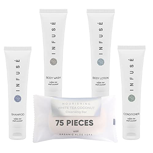 Infuse 1-Shoppe All-In-Kit | Hotel Size Amenities Set