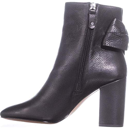 Avec Les Filles Womens remi Closed Toe Ankle Fashion, Black Lamba, Size 8.5