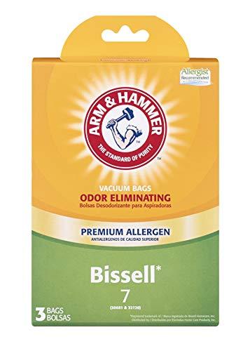 Arm & Hammer Bissell Style 7 Premium Allergen vacuum bags, 3, White