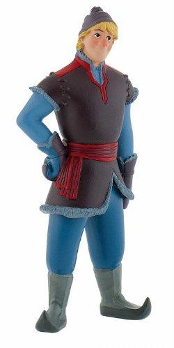 Bullyland 12962 - Spielfigur, Walt Disney Die Eiskönigin - Kristoff, ca. 10,5 cm groß, liebevoll handbemalte Figur, PVC-frei, tolles Geschenk für Jungen und Mädchen zum fantasievollen Spielen