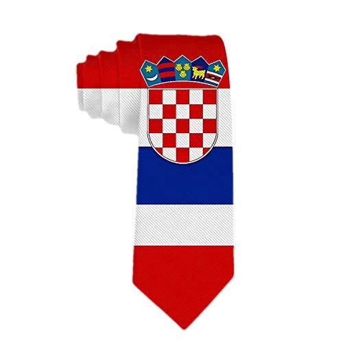 Web--ster Corbata clásica de hombre de negocios The Pride Of Croatia Ties