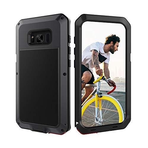 Beeasy Funda Samsung Galaxy S8,Antigolpes Rígida Robusta Antigravedad Carcasa Resistente al Impacto Militar Duradera Blindada Fuerte de Seguridad al Aire Libre Case Cover,Negro