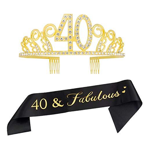 Cintas 40 Cumpleaños  marca Ska Direct