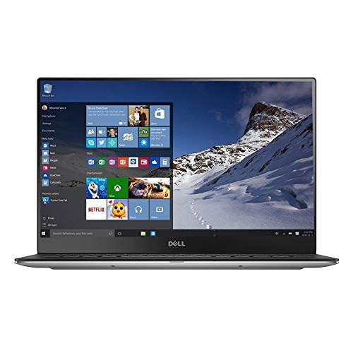 Dell XPS 13 9360 Laptop (13.3' InfinityEdge TouchScreen Quad HD+ (3200 x 1800), Intel 8th Gen Quad-Core i7-8550U, 512GB PCIe, 16GB RAM, Backlit Keyboard, Windows 10) Silver