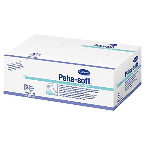 100 Peha-soft powderfree Latexhandschuhe Gr L