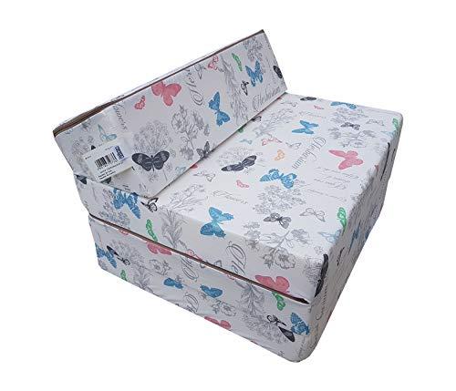 Natalia Spzoo Colchón plegable, cama de invitados, colchón de espuma 200x70 cm (081GLO)