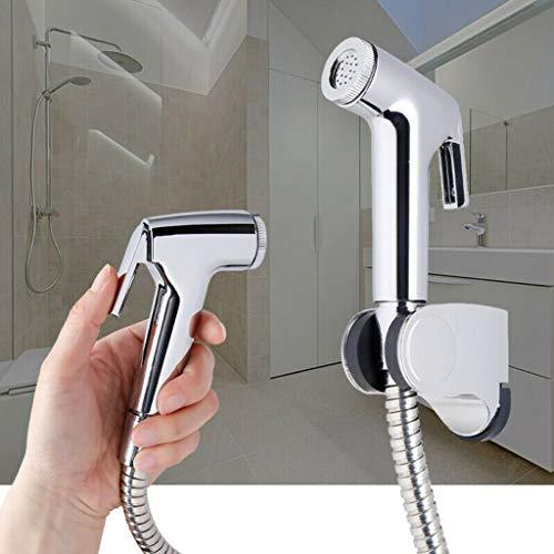 Handheld Bidet Sproeier voor toilet met anti-lekkende slang, toilet of wandmontage, 304 roestvrij staal materiaal