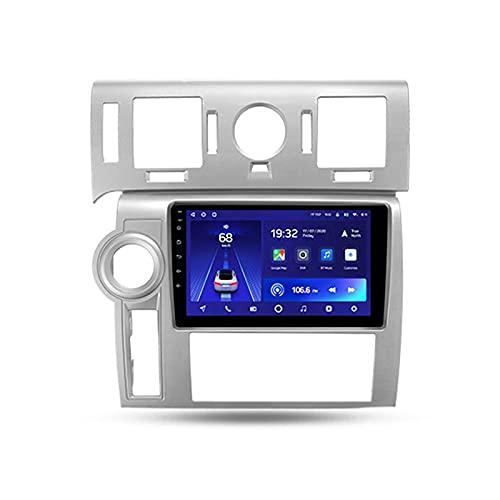 ADMLZQQ para Hummer H2 2007-2009,Android 10 9'' Autoradio con Pantalla Táctil/Enlace Espejo/BT/GPS/Mandos De Volante/Cámara Trasera/4G LTE+5G WIFI/3D Dinámica de conducción en Tiempo Real,Cc2l,2+32G