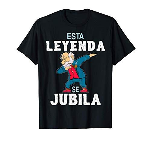 Regalo Original Jubilación Hombre Jubilado Leyenda Se Jubila Camiseta