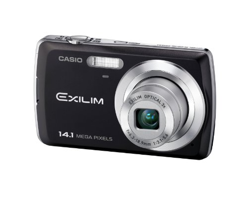 """Casio EXILIM EX-Z37 Black Digital Camera - 14.1 Megapixels 3. Cámara compacta 14,1 MP 1/2.3"""" CCD 4320 x 3240 Pixeles Negro - Cámara Digital (14,1 MP, 4320 x 3240 Pixeles, 1/2.3"""", CCD, 3X, Negro)"""