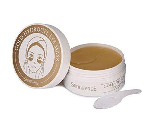 Shangpree - Máscara de ojo de hidrogel de oro