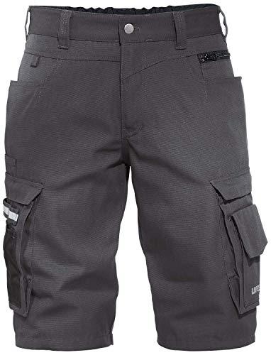 Uvex Perfexxion Männer-Arbeitshosen Kurz - Cargo-Shorts für die Arbeit - Grau - Gr 52