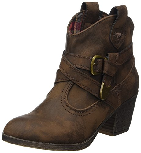 Rocket Dog Damen Satire Cowboystiefel, Braun Graham, 38 EU