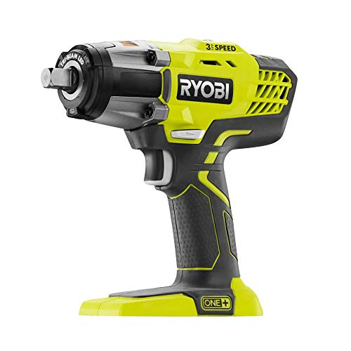RYOBI P1935N 18-Volt ONE+ Cordless Combo Kit with 3-Speed 1/2 in. Impact Wrench and 3/8 in. 3-Speed Impact Wrench (Tools Only)