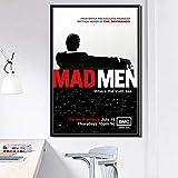 ysldtty Leinwand Malerei Mad Men Hot Tv-Serie Show Art