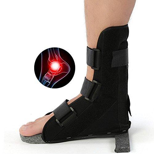 Knöchel-Bein-Bügel-Stützfuß-Orthesen-Korrektor-Plantar-Schienen-Befestigungs-Schutz-Knöchel für die Entlastung von Schmerz und von Wiederherstellungsverstauchung (M)