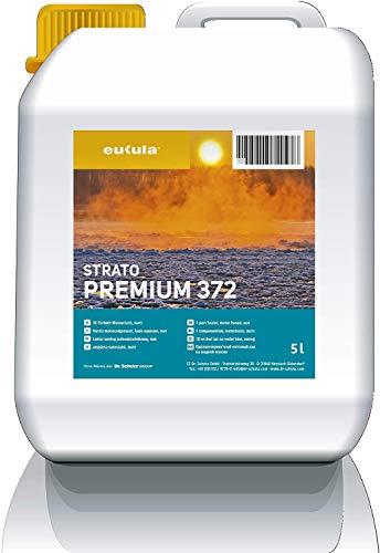 Eukula strato premium 371,372 (seidenmatt/matt) 5 Liter - Spezial Wasserlack für Parkett- und Korkböden (371 seidenmatt)