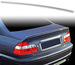 FYRALIP Painted Factory Print Code Trunk Lip Wing Spoiler For BMW 3-Series E46 Sedan Coupe E46 M3 Fast Delivery Easy Installation Perfect Fit - A07 Mystic Blue Metallic