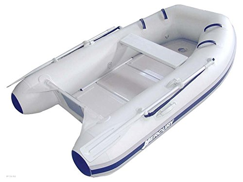 Great Deal! MERCURY 2014 Inflatable Boat 270/250 Sport Enduro 8'4 Gray PVC Solid FRP Floor