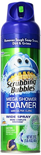 Scrubbing Bubbles Foaming Bathroom Cleaner (20 oz 3 Pack, SPRAY) ,Package may vary