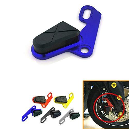 CHUDAN Rahmen Sliders Anti Crash Protector Sturzpads Sturzschutz, Bremspumpenschutz Dekorative Abdeckung für Yamaha Xmax 300 125 250 400,Blue
