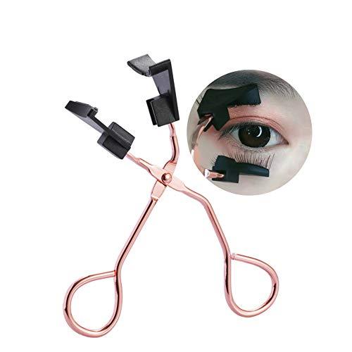 DAGEDA Rose Gold Magnetic Lashes Clip, Premium Magnetic Lash Applicator Tool Magnetic Eyelashes Clip Easily Apply Magnetic Lashes Tools For Makeup Charming Eyes(No Magnetic Eyelashes)