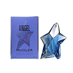 All our fragrances are 100% originals by their original designers. Packaging for this product may vary from that shown in the image above Angel for Women Eau De Parfum Spray 3.3 Oz. / 100 Ml Refillable by Thierry Mugler This item is not for sale in C...