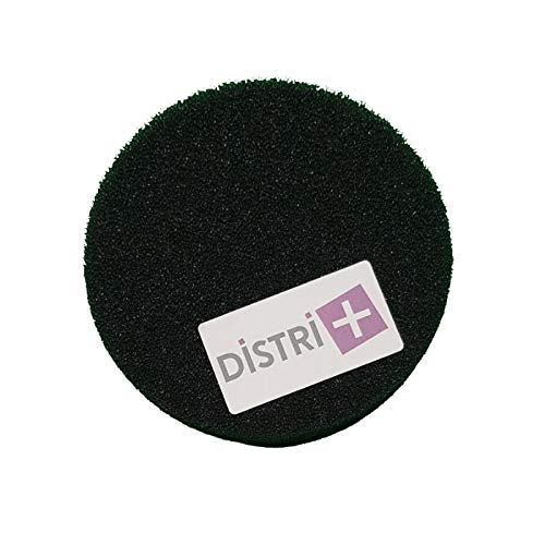 Filtro de espuma redondo D.130 mm para aspiradora Rowenta Artec 2, RO4111 a RO 4232, RS-RT2241. - Juego de 1 filtro