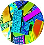 iDichroic Deluxe Assorted Colors Dichroic Fusible Glass 90 COE 1 OZ.