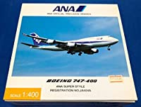 全日空商事 1400 ANA ボーイング 747400 ANA SUPER STYLE JA404A NH40000