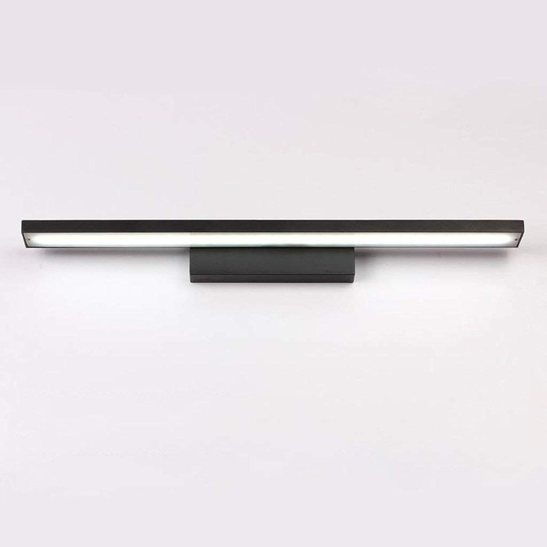 Spiegel Lampen LED-Spiegel Scheinwerfer, Badezimmer Badezimmer einfach Aluminium Spiegel Badezimmer leuchten (Farbe  B-Weiß-8w 40 cm)