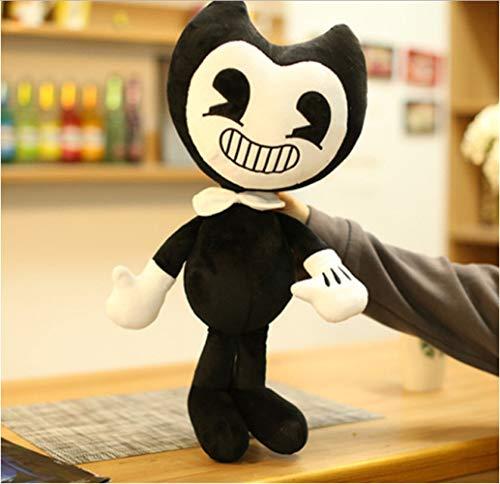 Hanyyj Plüschtiere 50Cm Bendy Doll Und Das Plüschtinten-Maschinenspielzeug Gefülltes Halloween-Thriller-Spiel Plüschpuppe Weiches Kindergeschenk