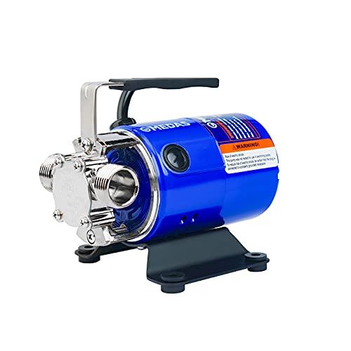 MEDAS 550 GPH 115V 1/10HP Auto Portable Water Transfer Pump Utility Pumps with Suction Hose Kit