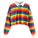 Blusas para mujer, de otoño, tallas grandes, trenzadas, para mujer, de manga larga, con botones, a rayas, color a rayas, sudaderas con capucha, sudaderas, blusas tipo túnica, tallas S a XXXXL.