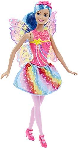 Barbie-DHM56 barbie Hada mágica, color joyas. (Mattel DHM56) , color/modelo surtido