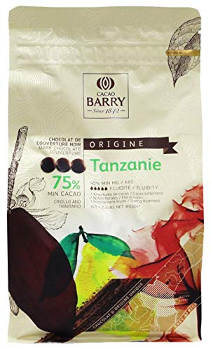 Cacao Barry 1kg 75% Tanzania Easimelt