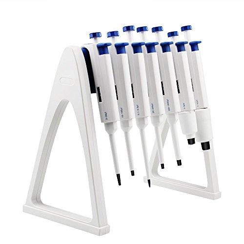 FOUR E'S Scientific Labor-Pipettenständer, halten bis zu 7 Pipettierer Einkanal-/Multichannel-Pipettierer