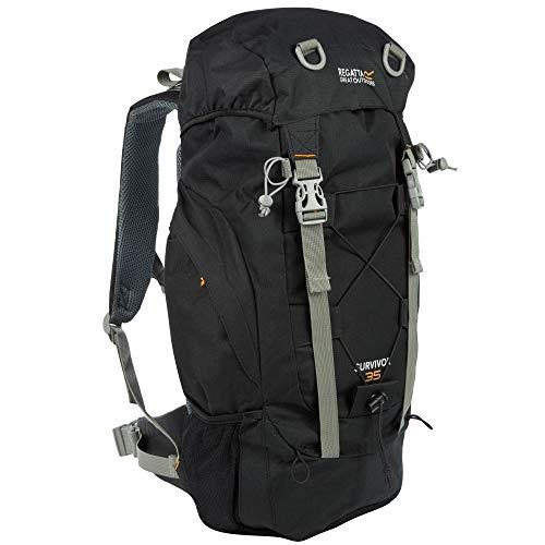 Regatta Unisex's Survivor III 35L Rucksack, Black, 35 Litre