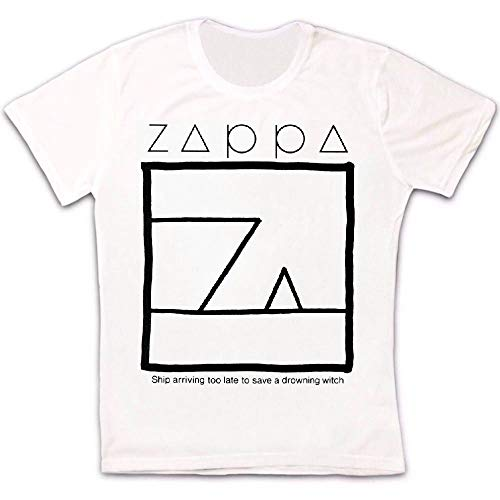 Mlxg Frank Zappa schip aankomen te laat om te redden een verdrinkende heks T Shirt 634