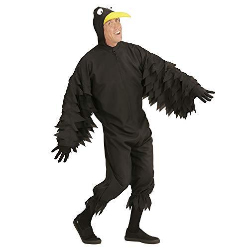 Widmann wdm05644–Costume corbeau, noir - XL